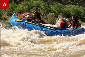 Rowing Raft Cataract Canyon Utah | Adrift Adventures Moab Utah!
