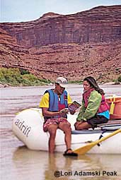 Backpacking and rafting