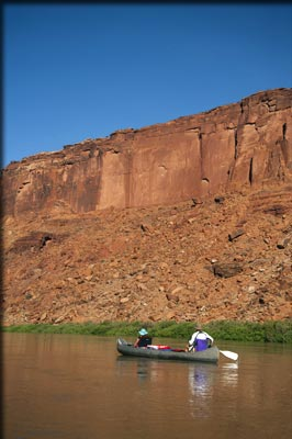 Flat Water Portion Moab, Utah Adrift Adventures River Rafting!
